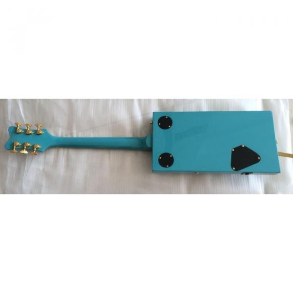 Custom Blue Gretsch G5810 Bo Diddley Electric Guitar Cigarette Box