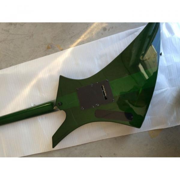 Custom Shop Jackson KE2 Flame Maple Top Green Electric Guitar