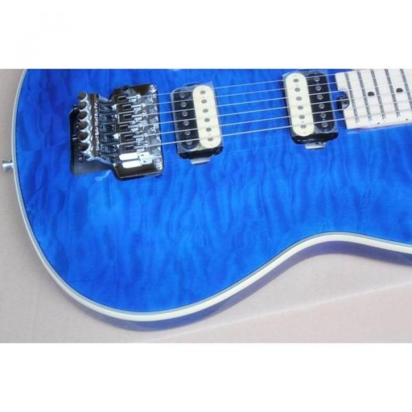 Custom Shop Wolfgang EVH Left Handed Blue Maple Top Electric Guitar