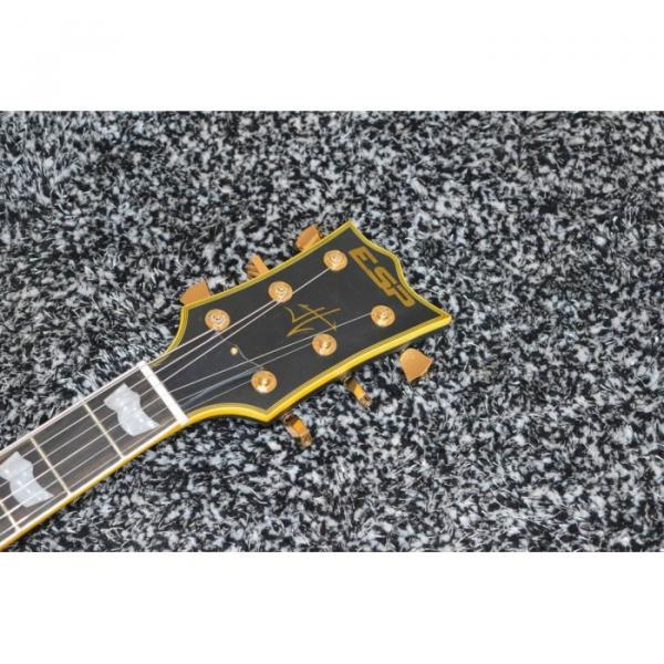 Custom Shop ESP Metallica James Hetfield Iron Cross 6 String Electric Guitar