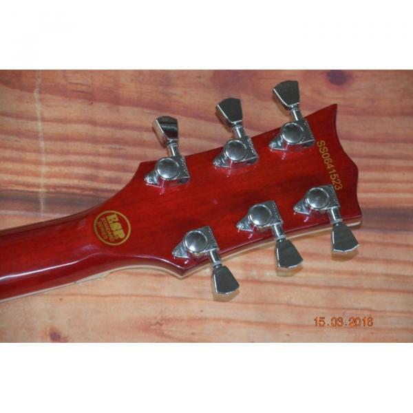Custom LTD Deluxe ESP Eclipse Sunburst Electric Guitar