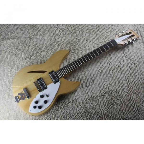 Custom 12 Strings 330 Natural 3 pcs Neck Guitar