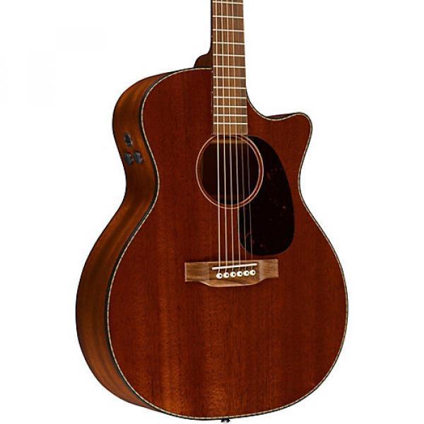 Martin Custom GPC15M Acoustic-Electric Guitar Mahogany