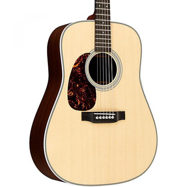 Martin Standard Series HD-28L Dreadnought Left-Handed Acoustic Guitar Natural