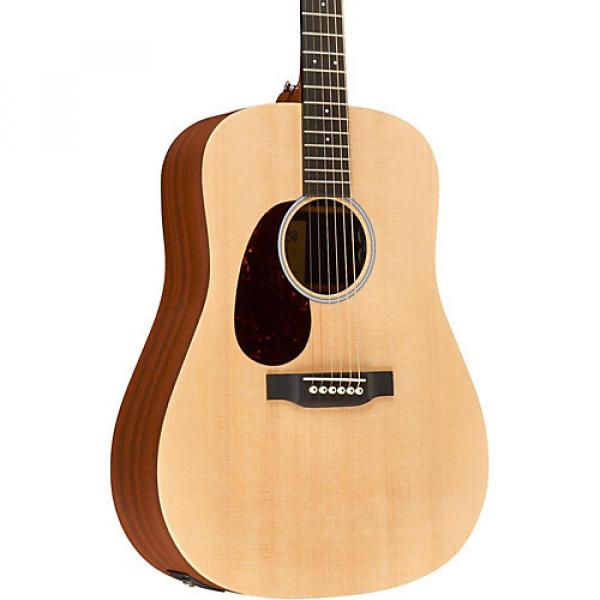 Martin X Series Custom DX1AE-L Dreadnought Left-Handed Acoustic-Electric Natural