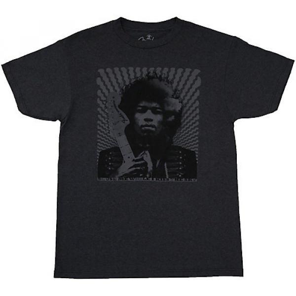 Fender Jimi Hendrix Collection Kiss the Sky T-Shirt Small Gray