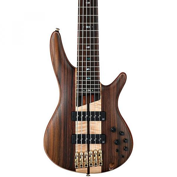 Ibanez SR1806E Premium 6-String Electric Bass Flat Natural Rosewood fretboard