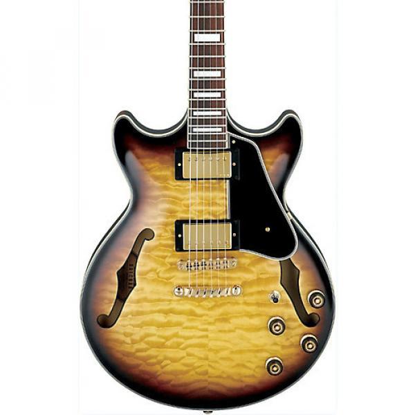 Ibanez Artcore Expressionist AM93 Semi-Hollow Electric Guitar Antique Yellow Sunburst