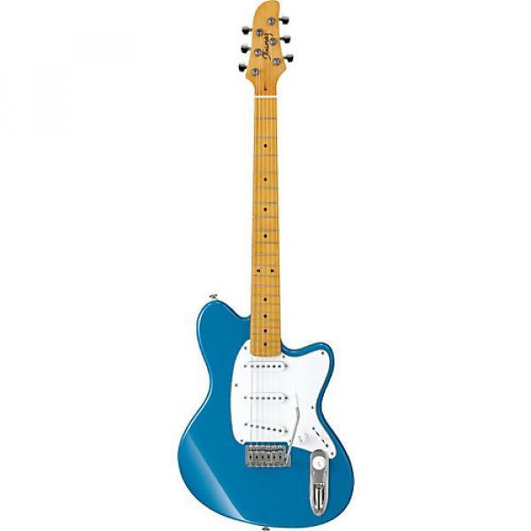 Ibanez Talman Series TM330M Electric Guitar Bright Metallic Blue