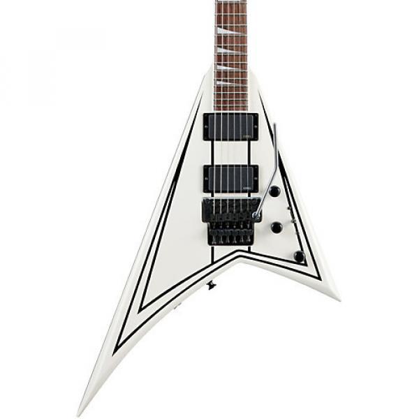 Jackson RRXMG Rhoads X Series Electric Guitar Snow White with Black Pinstripes