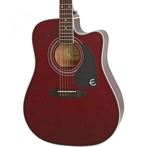 Epiphone PRO-1 ULTRA Acoustic-Electric Guitar Wine Red