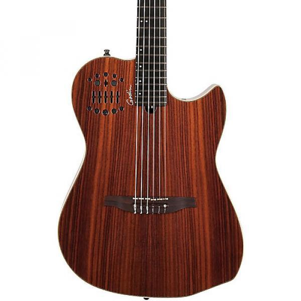 Godin Multiac HG SA Nylon-String Classical Acoustic Guitar Natural