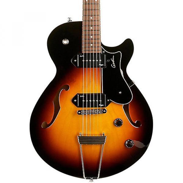 Godin Montreal Premiere P90 Semi-Hollow Electric Guitar Sunburst