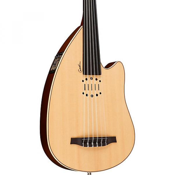 Godin MultiOud Nylon Acoustic-Electric Oud Gloss Natural