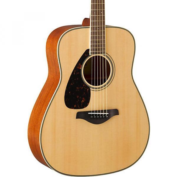 Yamaha FG820L Dreadnought Left-Handed Acoustic Guitar Natural