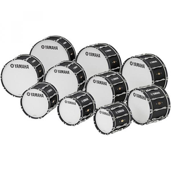 """Yamaha 28"""" x 14"""" 8300 Series Field-Corps Marching Bass Drum Black Forest"""