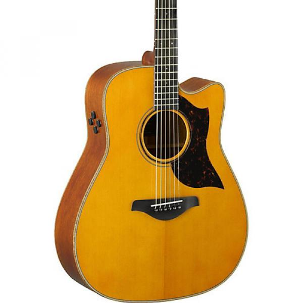 Yamaha A-Series A3M Dreadnought Cutaway Acoustic-Electric Guitar Vintage Natural