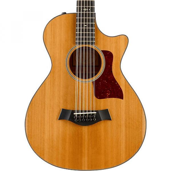 Chaylor 500 Series 552ce Grand Concert 12-String Acoustic-Electric Guitar Natural