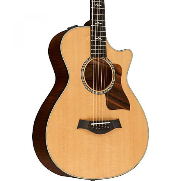 Chaylor 600 Series 612ce 12-Fret Grand Concert Acoustic-Electric Guitar Natural