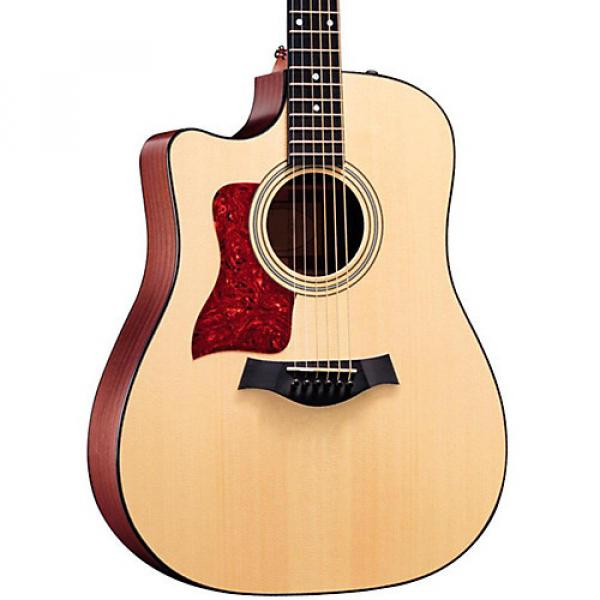 Chaylor 310ce-L Sapele/Spruce Dreadnought Left-Handed Acoustic-Electric Guitar Natural