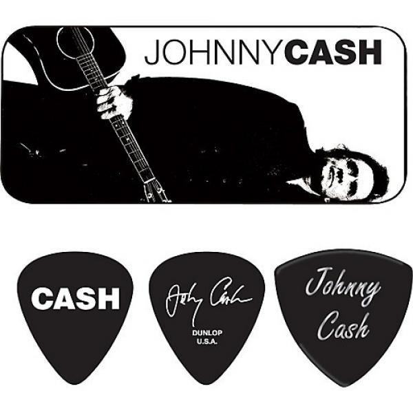 Dunlop Johnny Cash Legend Pick Tin with 6 Picks Medium