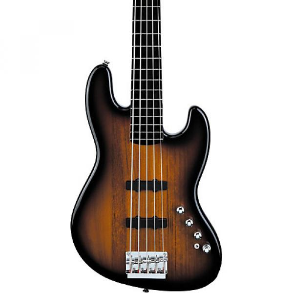 Squier Deluxe Jazz Bass Active V 5-String Electric Bass Guitar 3-Color Sunburst
