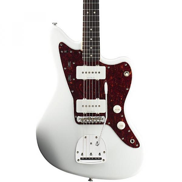 Squier Vintage Modified Jazzmaster Electric Guitar Olympic White Rosewood Fingerboard