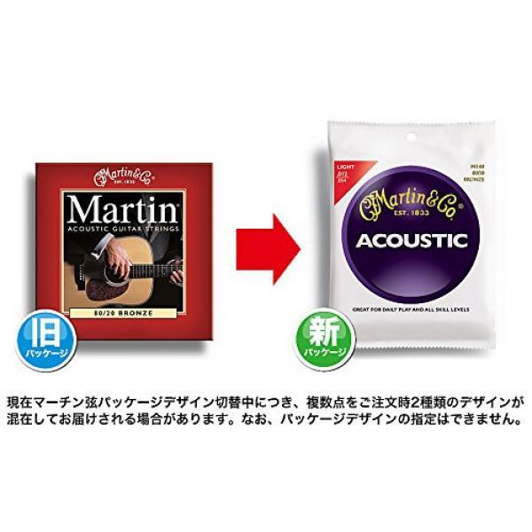 Martin M535 Traditional Phosphor Bronze Custom Light Acoustic Guitar Strings
