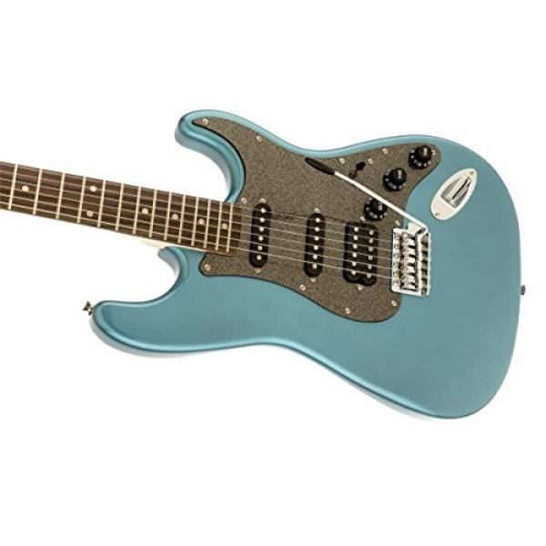 Squier by Fender Affinity Stratocaster Beginner Electric Guitar HSS - Rosewood Fingerboard, Lake Placid Blue