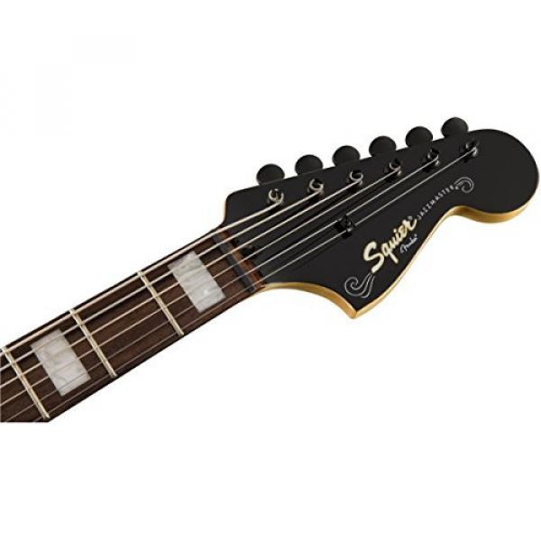 Squier by Fender Vintage Modified Baritone Jazzmaster - Rosewood Fingerboard - Transparent Black