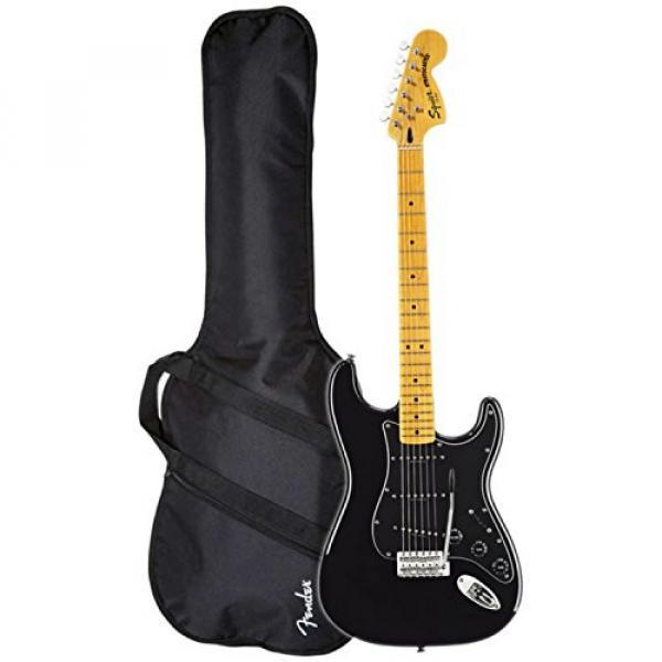 Squier Vintage Modified '70s Stratocaster (Black) w/ Gig Bag
