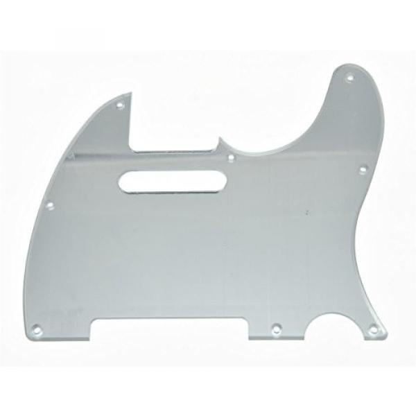 KAISH Silver Mirror Tele Guitar Pickguard Scratch Plate for Fender Telecaster