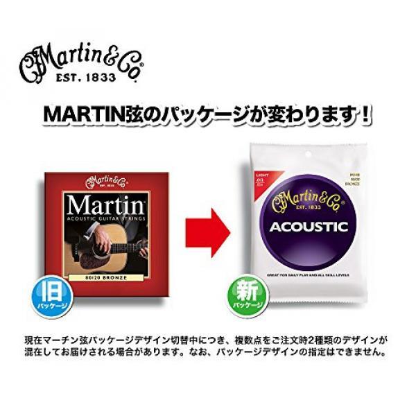 Martin M170 80/20 Acoustic Guitar Strings, Extra Light