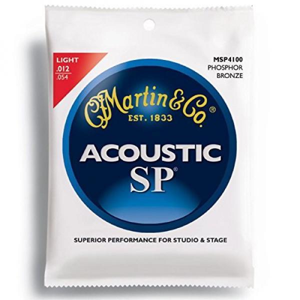 """New Case of (12) Sets Msp4100 Phosphor Bronze Martin Sp Guitar Strings Light"""""""