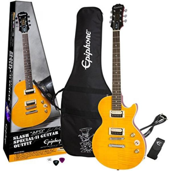 "Epiphone Slash ""AFD"" Signature Les Paul  Special-II Electric Guitar Includes Gig Bag"