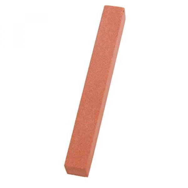 TTnight 13 Sizes Stainless Steel Guitar Bridge Saddle Nut Files Set Grinding Needles + Grinding Stone Red for Guitar Ukulele (With Grinding Stone)