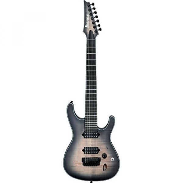 Ibanez Iron Label S Series SIX7FDFM 7-String Electric Guitar Dark Space Burst