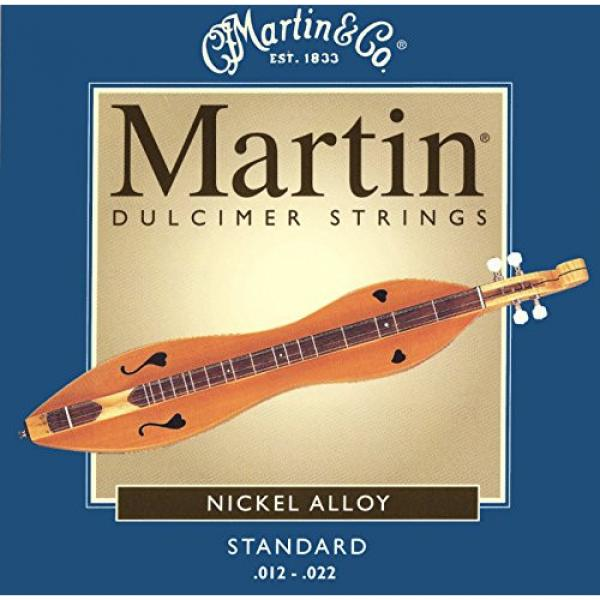 Mountain Dulcimer String Set, Martin Standard Gauge (.012, .012, .012, .022 Nickel Wound)