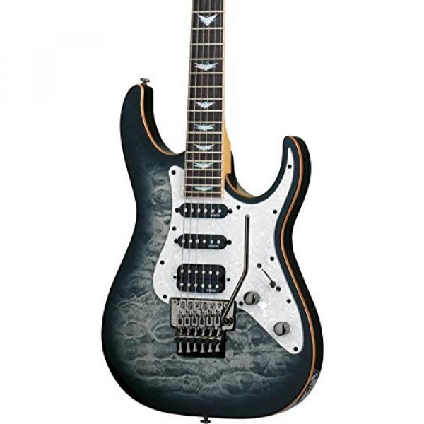 Schecter Guitar Research Banshee-6 FR Extreme Solid Body Electric Guitar Charcoal Burst