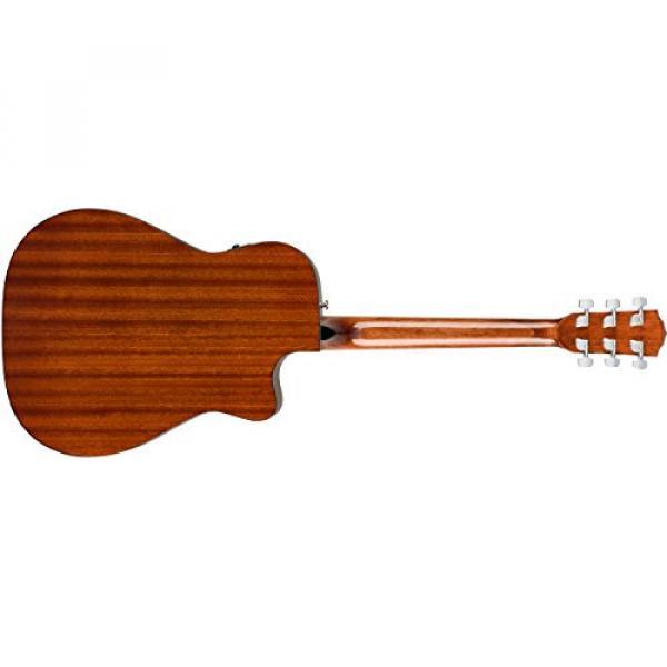Fender Classic Design Series CC-60SCE Cutaway Concert Left-Handed Acoustic-Electric Guitar Natural