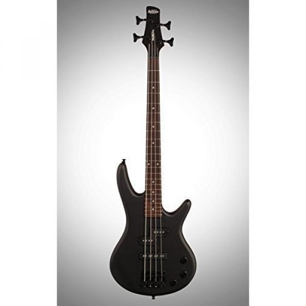 Ibanez Mikro GSRM20 BWK 3/4 Size Electric Bass Guitar - 4 Strings - Weathered Black Finish