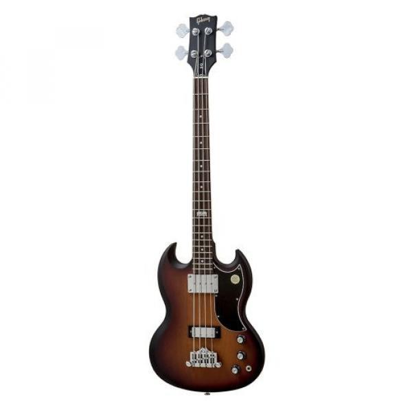 Gibson USA BASP14F2CH1 SG Special Bass 2014 4-String Bass Guitar - Fireburst Satin