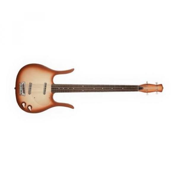 Danelectro Longhorn Bass Guitar (Copper Burst)