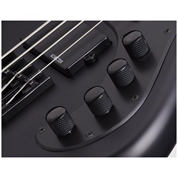 Shecter 2522 STILETTO STEALTH-4 Bass Guitar w/ Hardshell Case