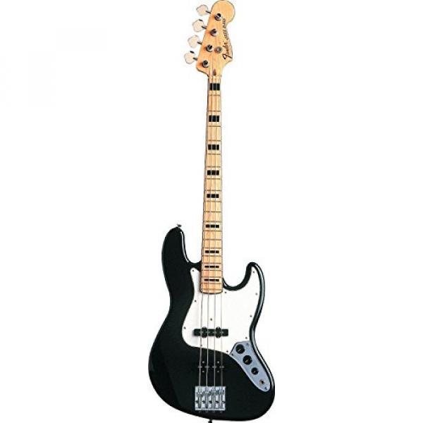 Fender Geddy Lee Jazz Bass, Black, Maple Fretboard