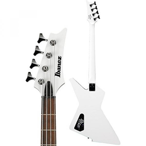 Ibanez MDB4 Mike D'Antonio Signature 4-String Electric Bass Guitar White