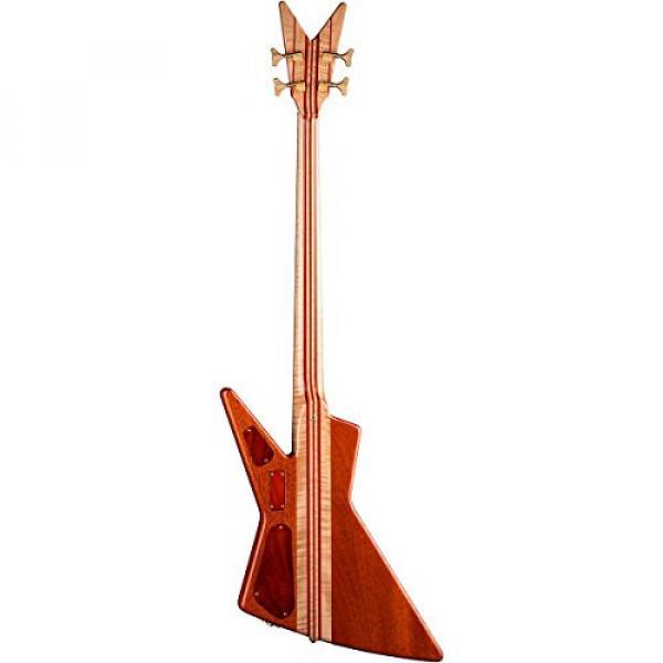 Dean USA JE SPIDER BRW John Entwistle Spider Redwood Guitar, Gloss Natural