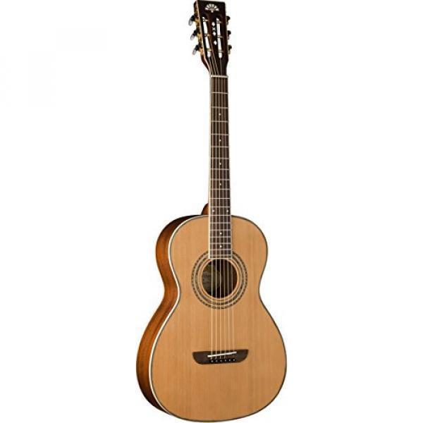 Washburn WP11SNS Parlor Series Acoustic Guitar, Natural Satin Finish