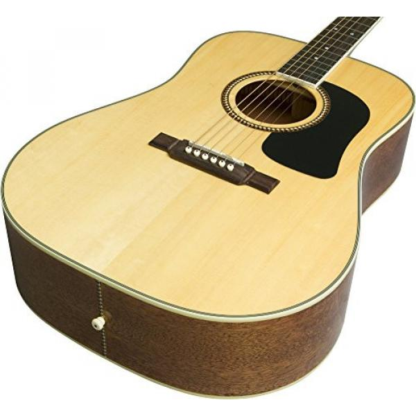 Washburn D10 Series Acoustic Guitar (Natural)