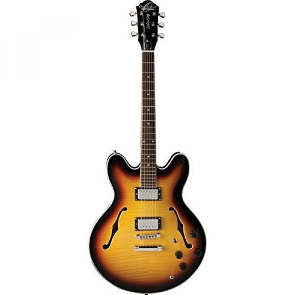 Washburn Oscar Schmidt OE30 Semi-Hollow Body Electric Guitar - Tobacco Sunburst